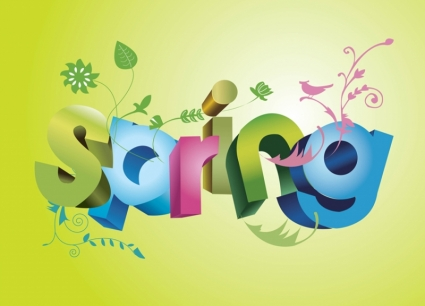 Spring-Vector-Background-151